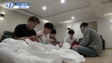 슈주 리턴즈 E59- 슈주 단합대회: 취침시간 (Super Junior's Sports Day: Bedtime)