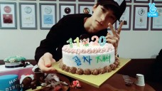 [Golden Child] 일사천리 금손 재석이의 자축 케이끄 만들기🎂 (JAE-SEOK making his birthday cake)