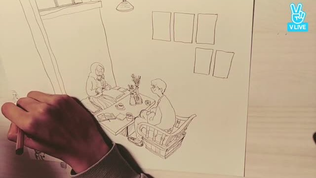 잠 못드는 이들을 위한 드로잉 방송 (Puuung drawing)
