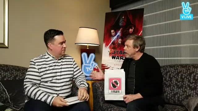 마크 해밀 X 샘 해밍턴 <스타워즈: 라스트 제다이> V라이브 '<Star Wars: The Last Jedi> V LIVE'