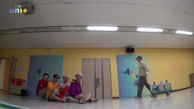 [유닛B] 하드털이/ 마르코 웅재 이정하 준Q 지욱 채진 캐스퍼 태호 혁진 feat.늦어서 미안 (Boys-Orange)