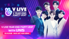 V LIVE YEAR END PARTY 2017 WITH Uni5