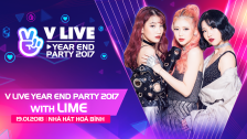 V LIVE YEAR END PARTY 2017 WITH LIME