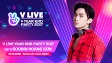 V LIVE YEAR END PARTY 2017 WITH Soobin Hoàng Sơn