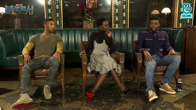 [REPLAY] 채드윅 보스만 X 마이클 B. 조던 X 루피타 뇽 X 라이언 쿠글러 <블랙 팬서> 무비토크 라이브 '<Black Panther> MovieTalk LIVE'