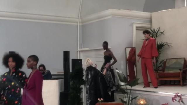 [London Fashion Week] OSMAN Presentation  - LFW Women's AW 18
