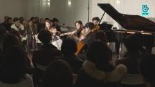 [V살롱]칼라치&김정원-슈만: 피아노 사중주 작품47 3악장 R.Schumann: Piano Quartet Op.47 3rd