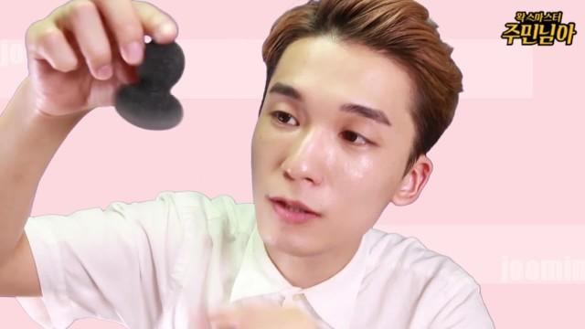 [1분팁] 스펀지 타입 메이크업 똥퍼프 초간단 세척법 (다이소,올리브영,피카소) How to easily clean your puffs