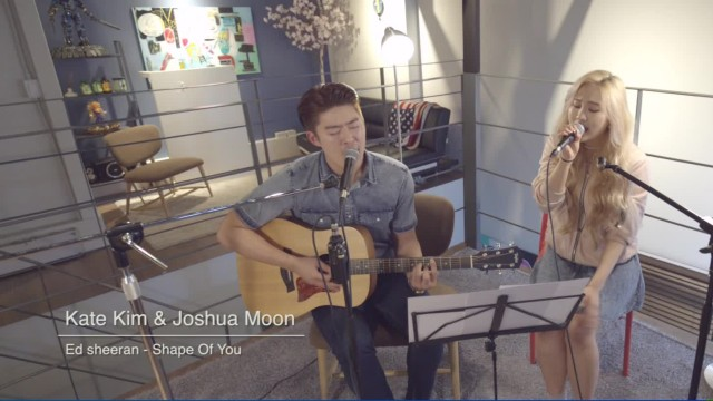 [케이트킴(Kate Kim) LIVE] - 원곡-Ed Sheeran- Shape Of You