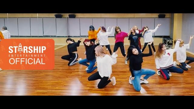[Dance Practice] 우주소녀(WJSN) - 꿈꾸는 마음으로(Dreams Come True) Fixed Cam Ver.