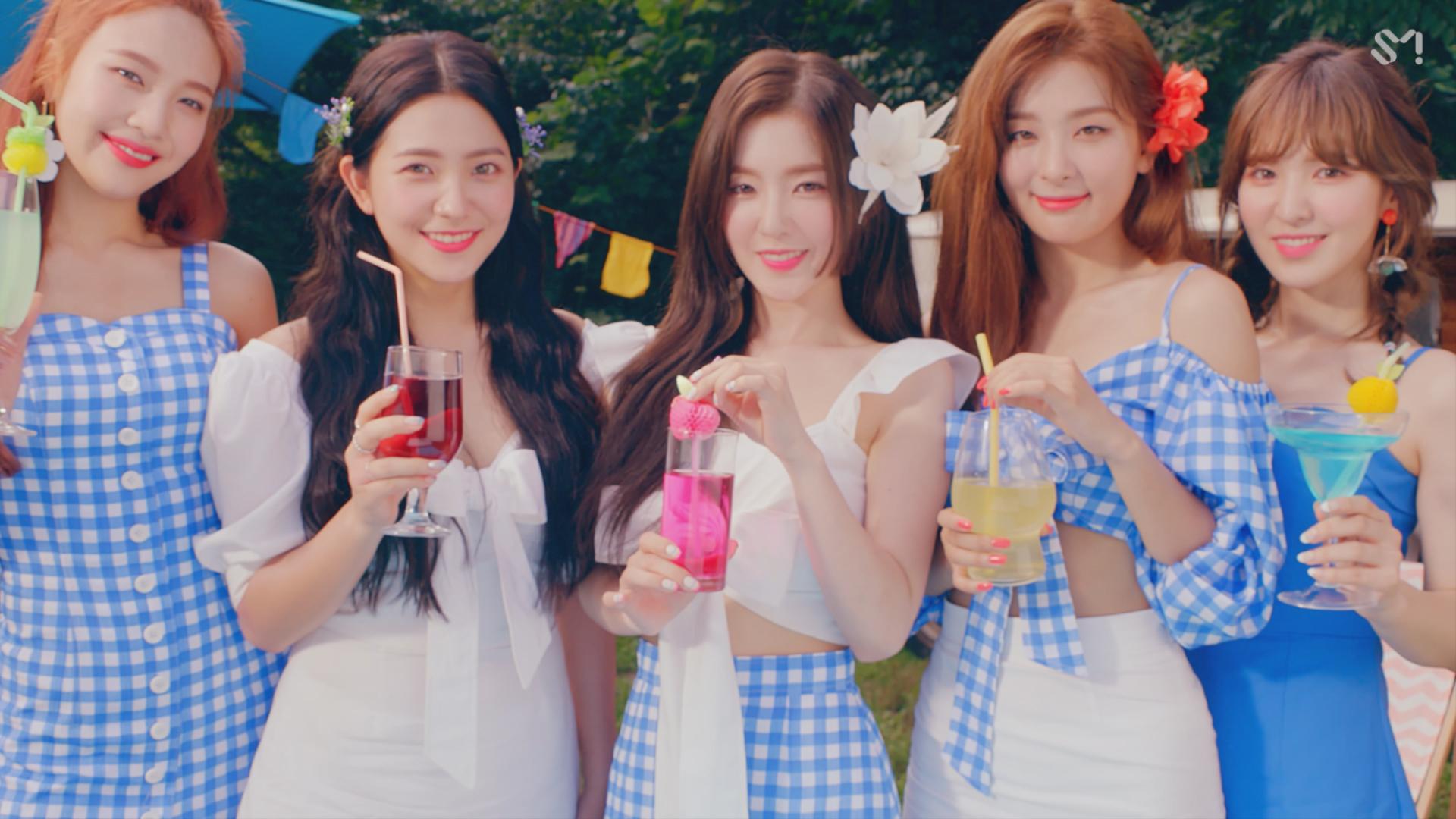 V Live Red Velvet 레드벨벳 Power Up Mv